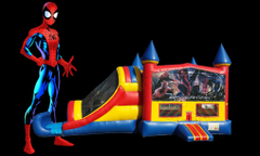 Spiderman 4 in 1 Combo (red/blue)