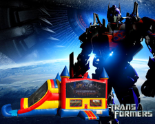 Transformers 4 in 1 Combo (red/blue)