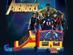 Avengers Bounce House Combo (Dry Only) Bounce House Combo