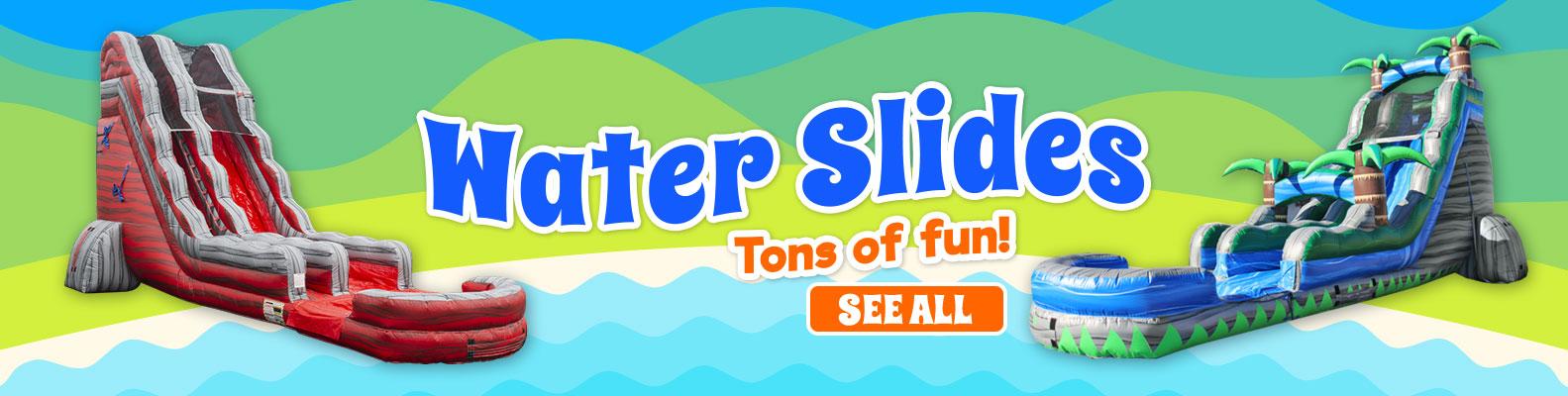 Savannah Water Slide Rentals