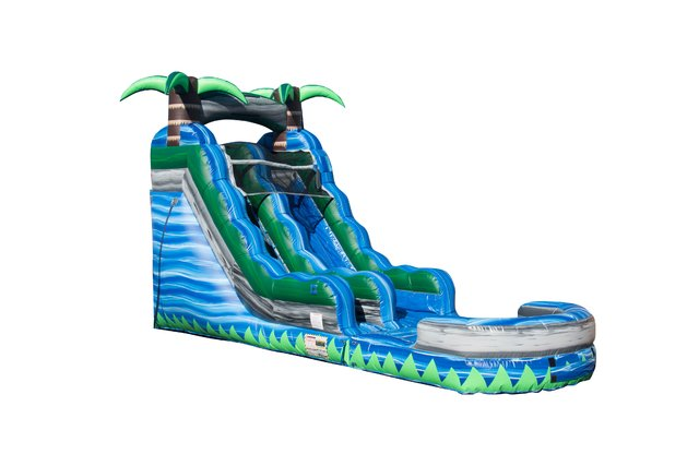 17 ft Blue Crush Waterslide