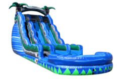 24 ft Dual Lane Blue Rapids
