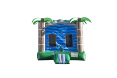 Blue Crush Bounce House