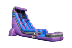 24 ft LED Midnight Ride Slide
