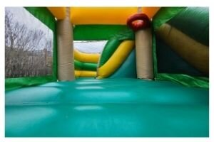 Tropical Bouncy Castle Rental Castle Kid Jumping Castles