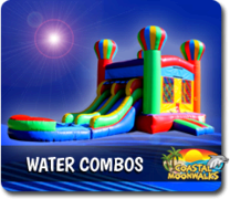 Water Combo Bouncers