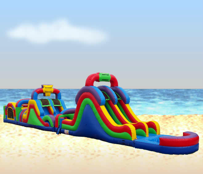 Inflatable Slide Rental Jacksonville Fl: Water Obstacle Course Rental