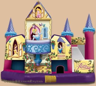 Disney princess bounce house Jacksonville