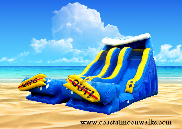Wipeout Bounce Water Slide Rental
