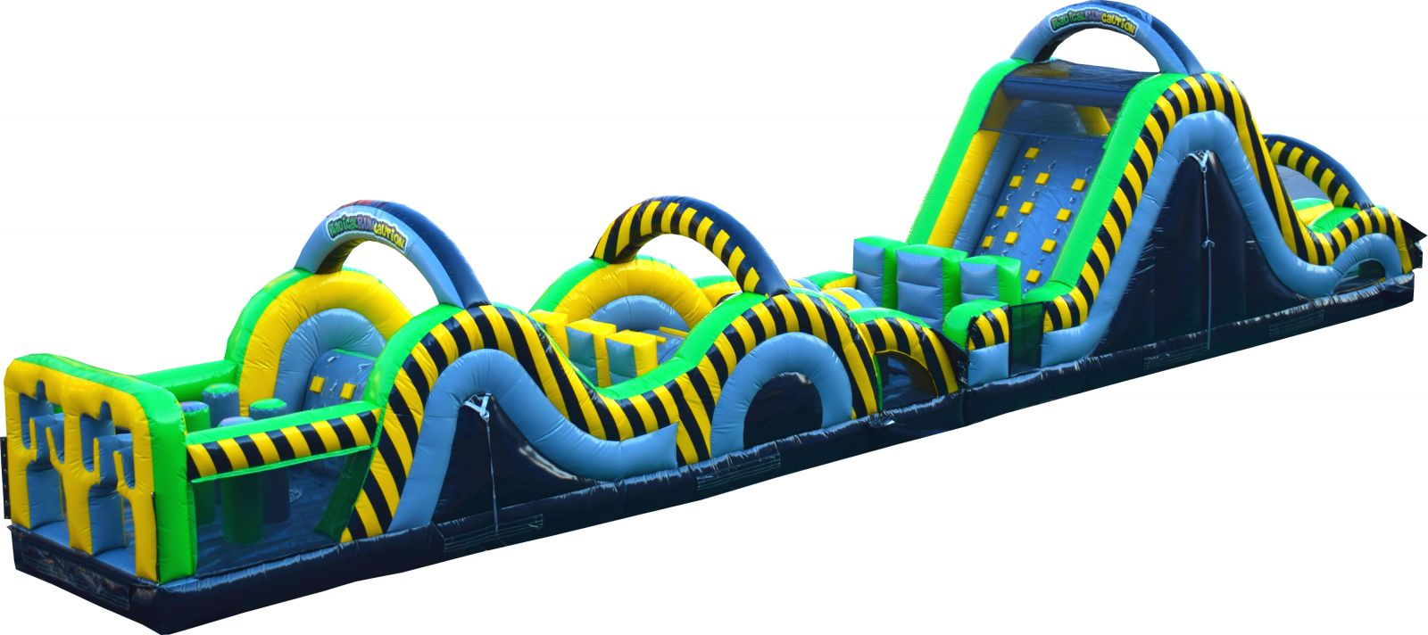 ninja warrior inflatable obstacle course rental in jacksonville FL