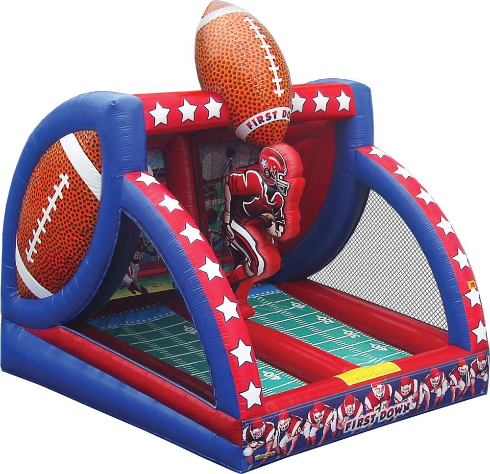 Inflatable Slide Rental Jacksonville Fl: Football Quarterback Inflatable Interactive Game Rental In