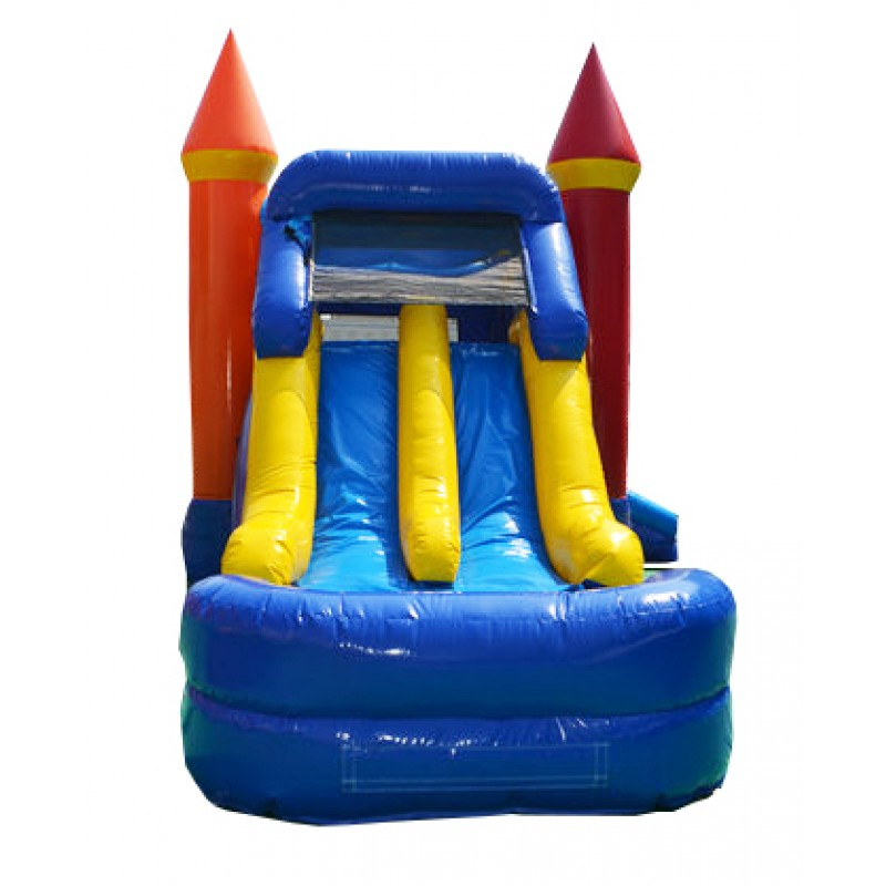 Inflatable Slide Rental Jacksonville Fl: Large Dual Lane Slide & Jumping Area! Gender Neutral