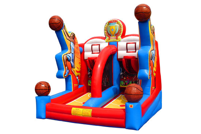 inflatable basketball game rental in jacksonville florida