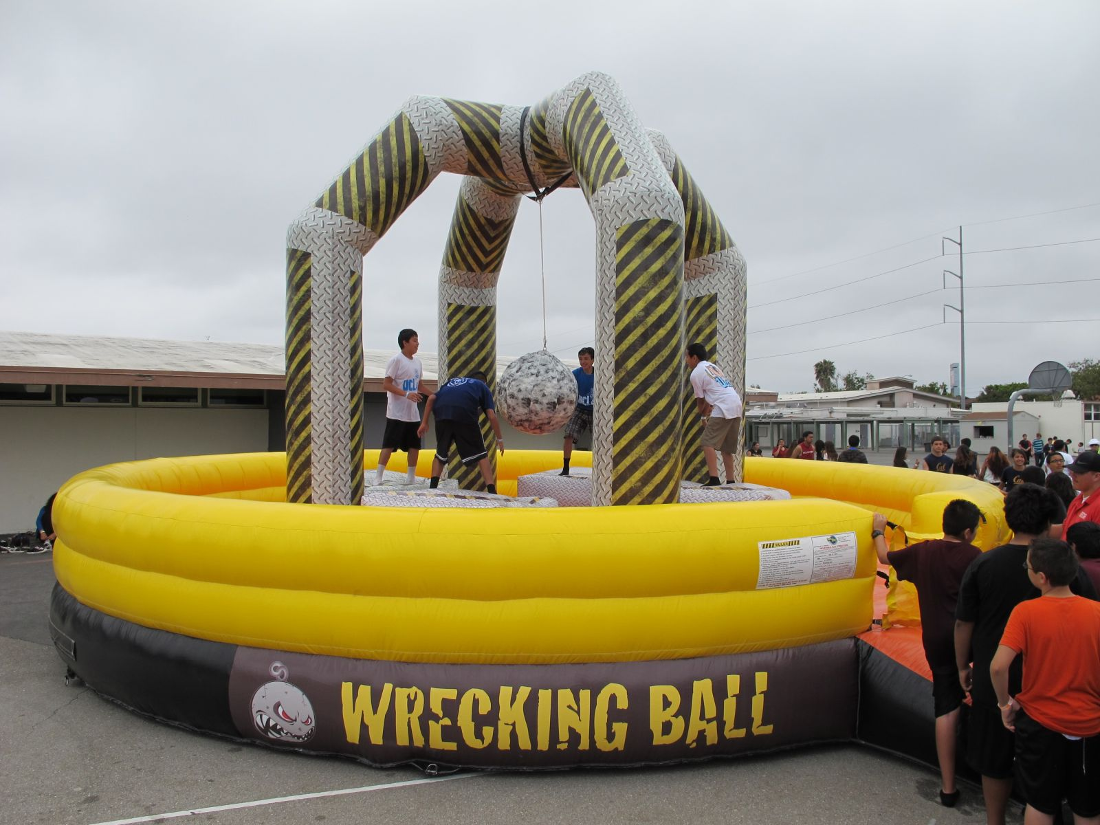 inflatable wrecking ball rental game jacksonville florida
