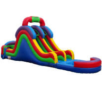 18ft Dual Water Slide SL325