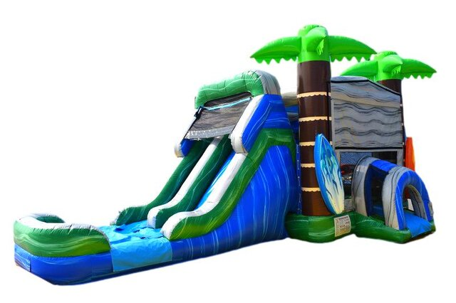 4in1 Surf Dual Water Slide Combo C205