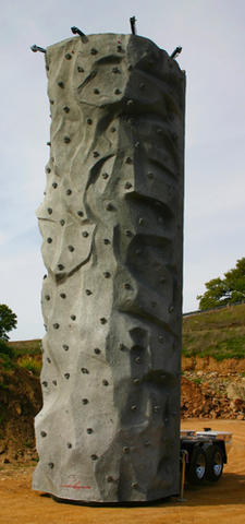 Rock Climbing Wall 3 Station
