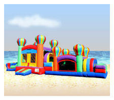 Balloon Obstacle Course Dry OC430/C217
