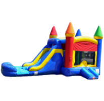 4in1 Castle Combo Water Slide C208