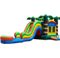 Coastal Combo Bouncer Water Slide C202