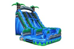 18ft Tropical Curvy Water Slide SL304