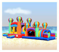 Balloon Water Slide Obstacle OC430/C217