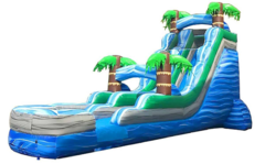 18ft Blue Lagoon Water Slide SL316