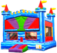 Blue Marble Bounce House M109