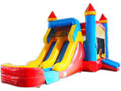 Castle Dual Lane Water Slide C208