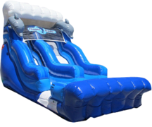 18ft Flipper Dolphin Water Slide SL319