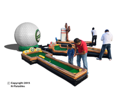 3 Hole Mini Golf G508