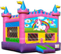 Unicorn Castle Bounce M107