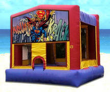 Superman Bounce House M110