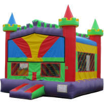 Wacky Castle Bouncer M115