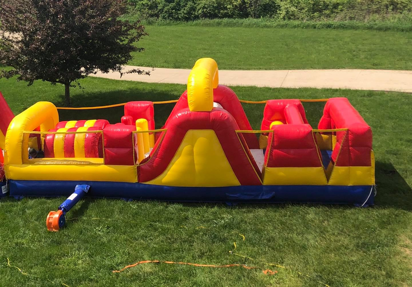 obstacle course rentals Youngstown Ohio