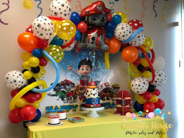 Upgraded Balloons Arch Multi Color Starting at $125