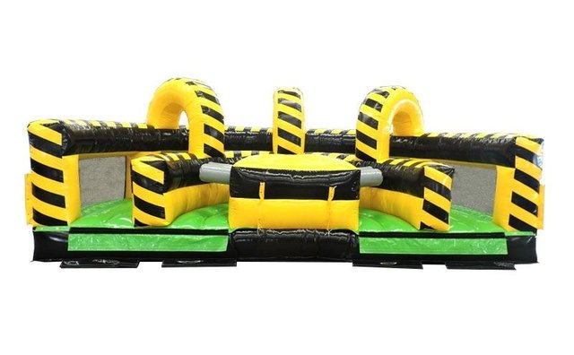 Venom U-Turn Inflatable Obstacle Course