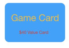 $40 Game Card for only $30