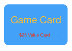 $25 Game Card for only $20