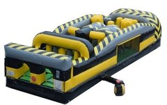 30' Venom 7 Element Inflatable Obstacle Course