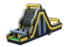 40' Venom Mega Inflatable Rock Climb Slide with Blower