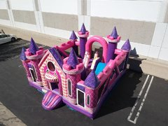 Princess Castle Play House Bouncer