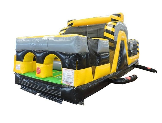 30' Venom Inflatable Obstacle Course