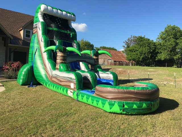 Emerald Crush Water Slide Rental