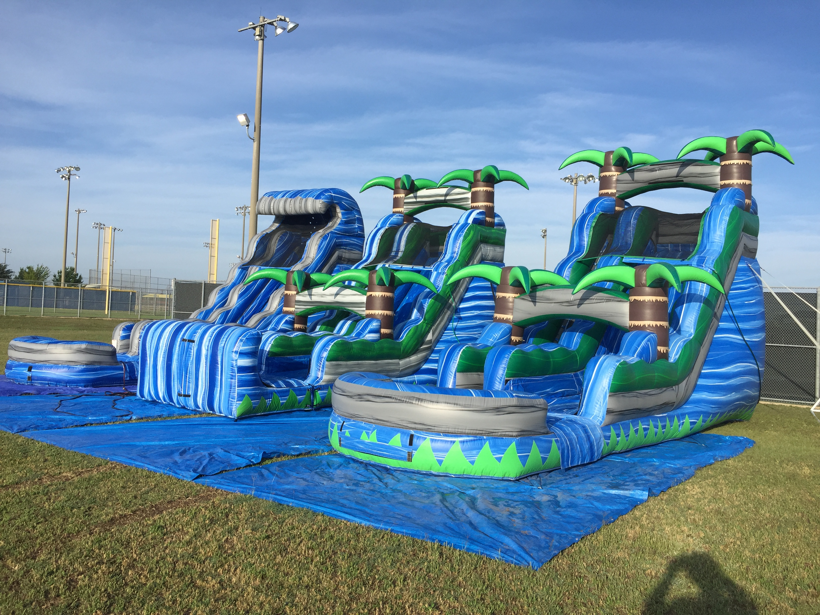 alvarado water slide rental