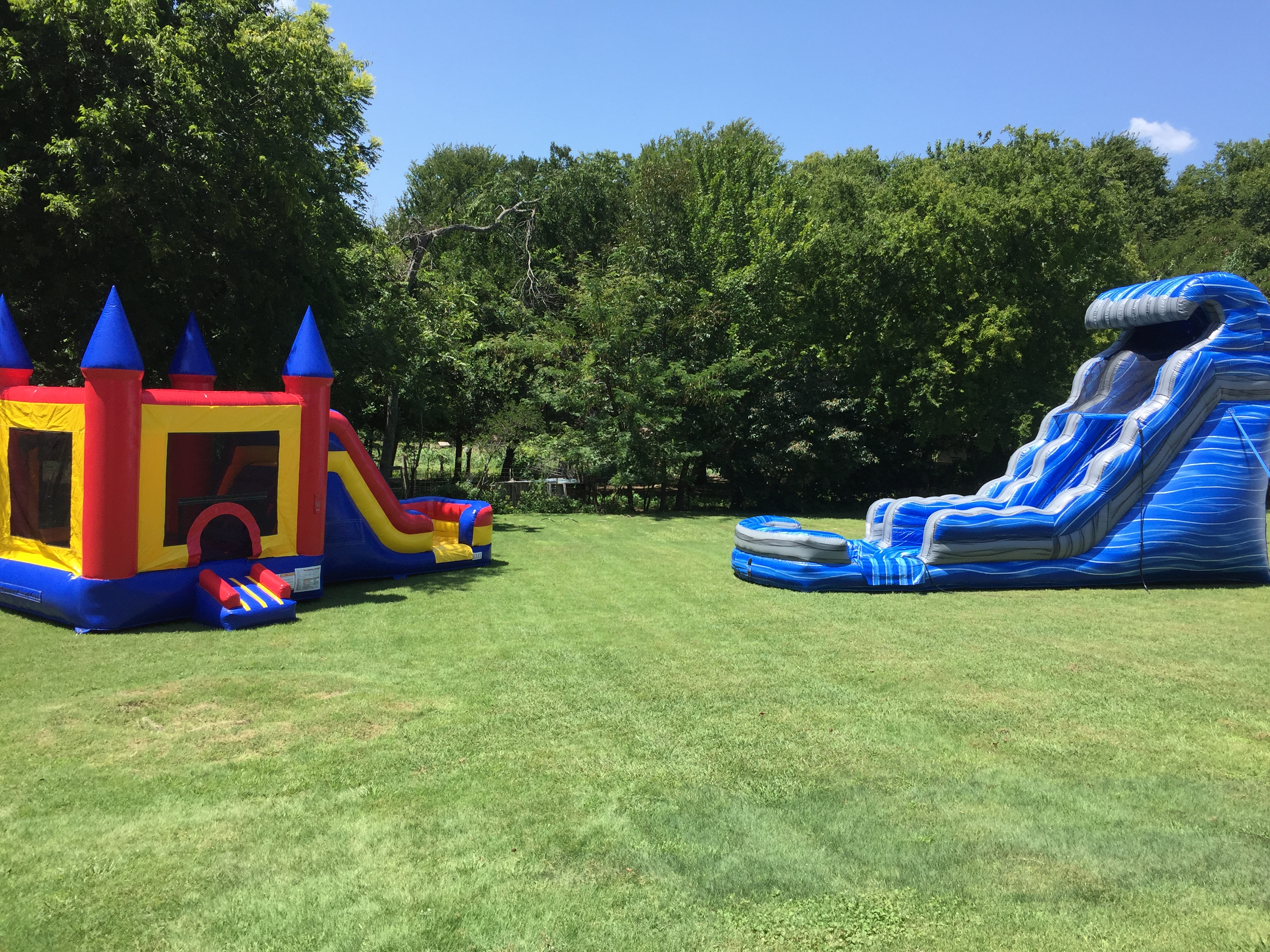 large water slides for rent