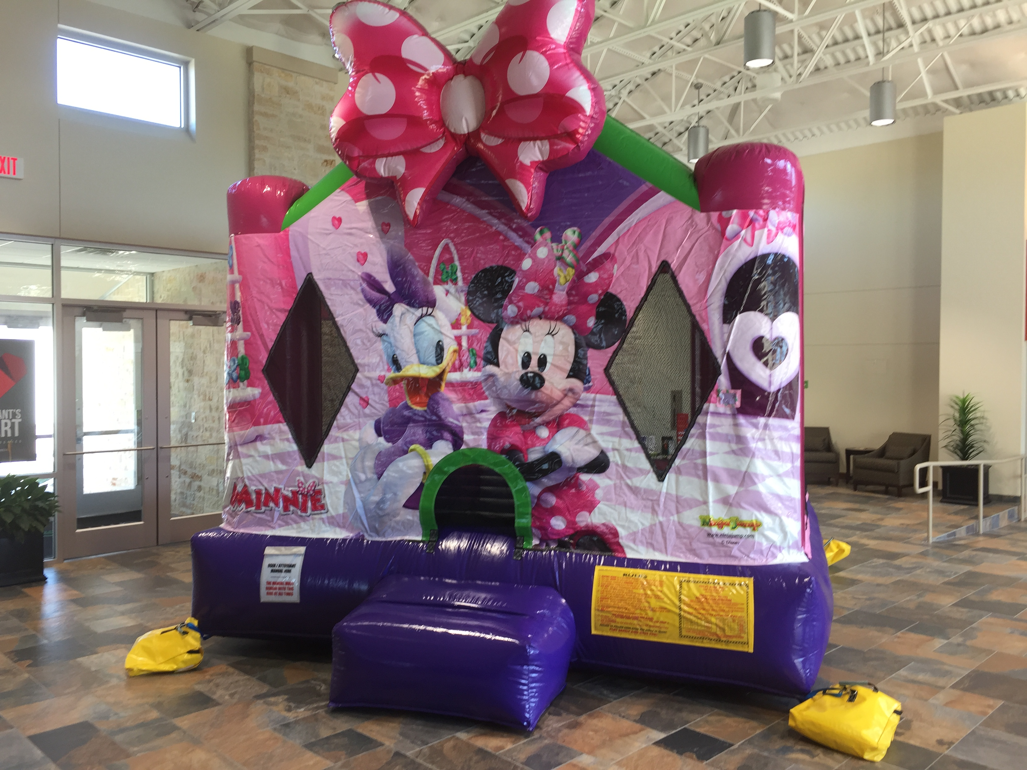 minnie mouse bounce house