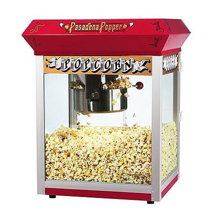 popcorn machine rental halloween