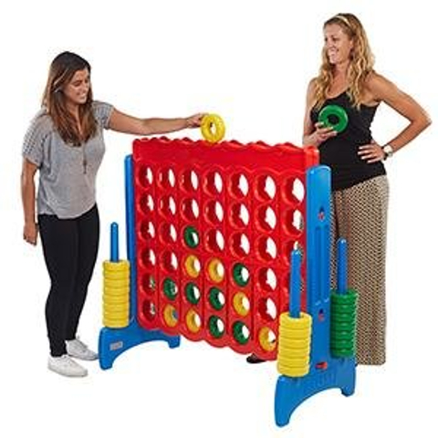 large backyard games to rent