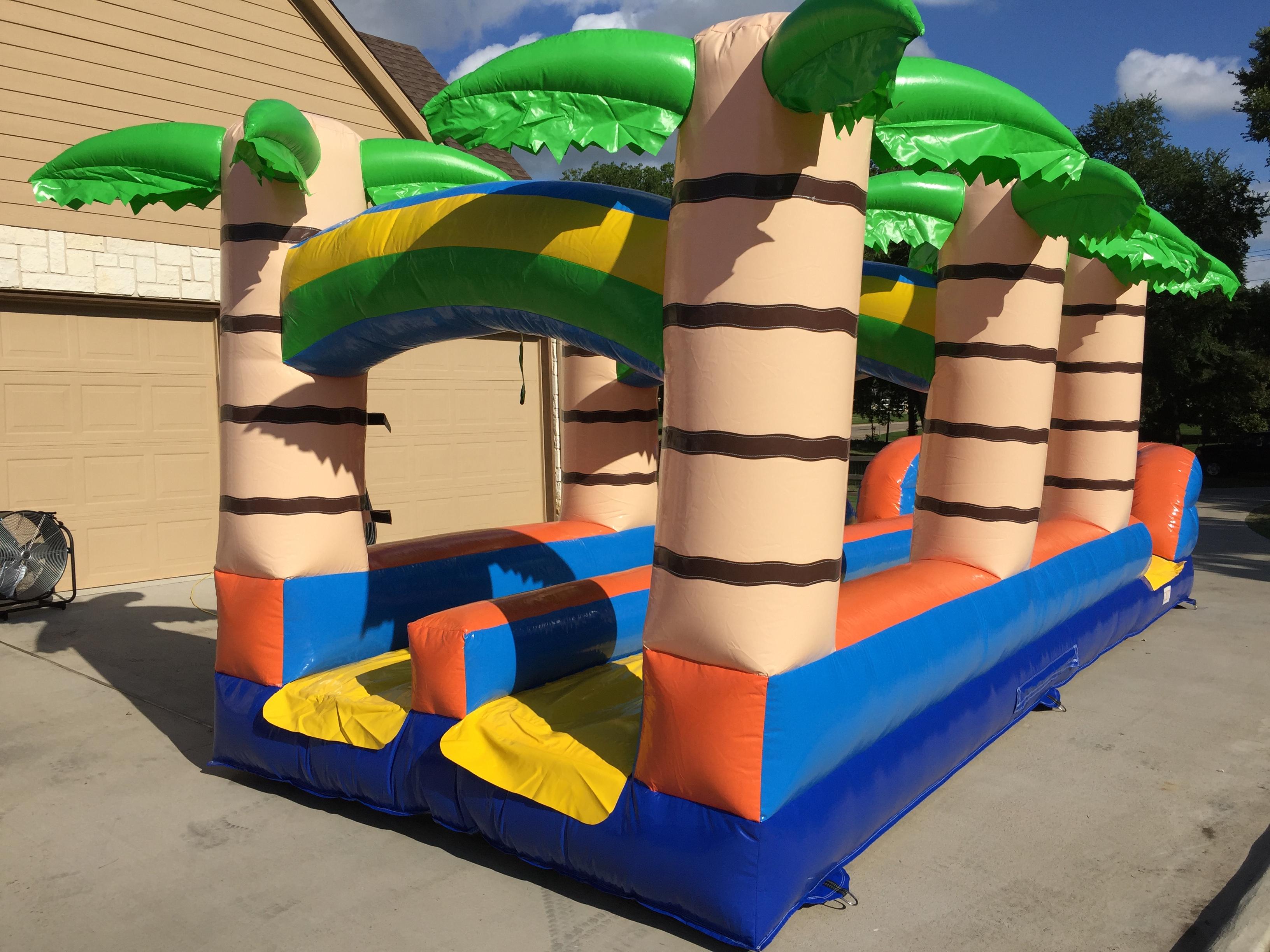 tropical slip n slide rental